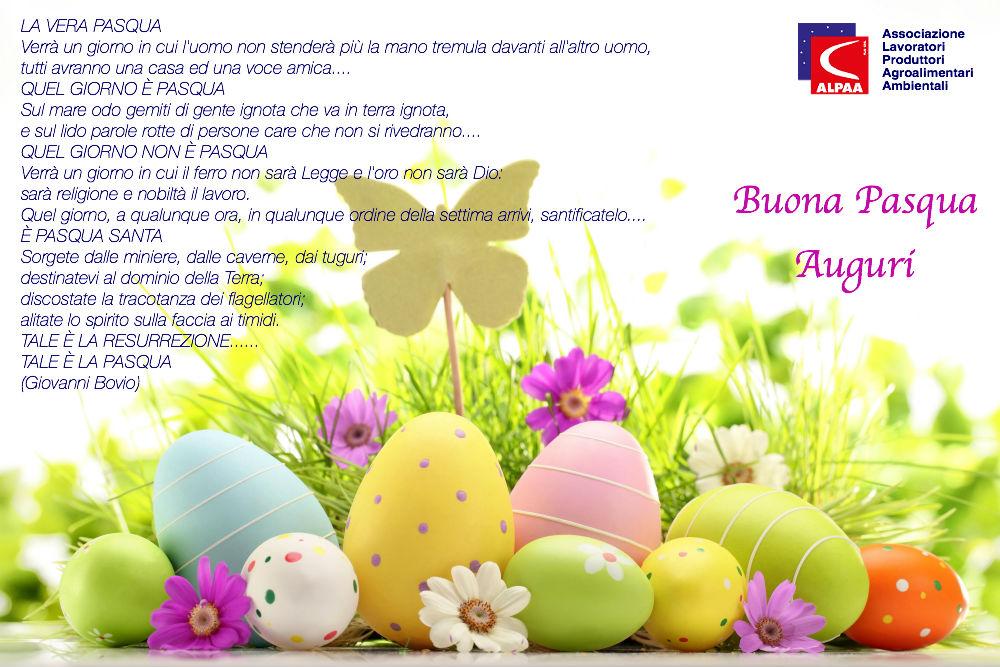 L'Alpaa Nazionale augura a tutti Buona Pasqua!